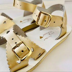 Shoes - Gold sandals